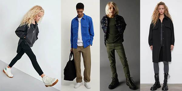 ofertas ropa mujer hombre y niños en el Black Friday 2020 de Zara