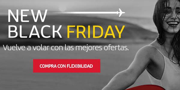 ofertas en vuelos Black Friday 2020