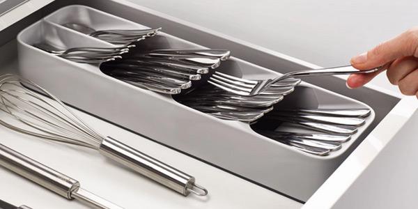 Comprar Organizador de cubiertos compacto Joseph Joseph Drawerstore Compact Cutlery Organiser oferta en Amazon