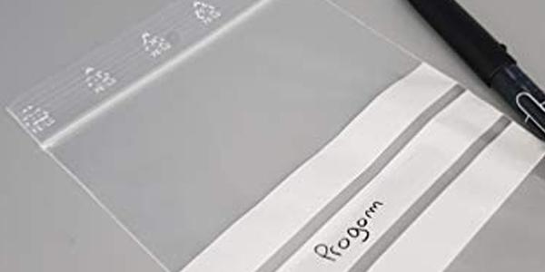 Pack x1000 Bolsas de plástico con cierre zip Progom oferta en Amazon