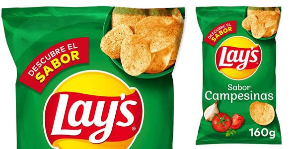 Pack x19 bolsas de Lay's Campesinas de 160 g chollo en Amazon