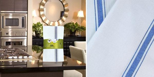 Pack 24 paños de cocina Utopia Towels de algodón puro oferta en Amazon