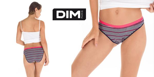 Pack x3 Bragas Dim Les Pockets Coton Slip para mujer chollo en Amazon