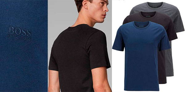 Camisetas Hugo Boss para hombre baratas