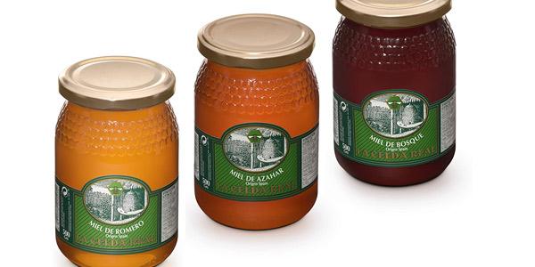 Pack x3 Envases Miel Natural La Celda Real de 500 gr/ud chollo en Amazon