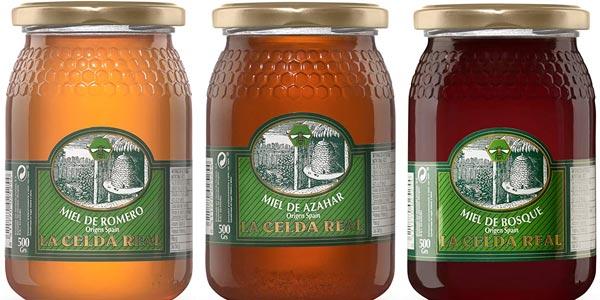 Pack x3 Envases Miel Natural La Celda Real de 500 gr/ud oferta en Amazon