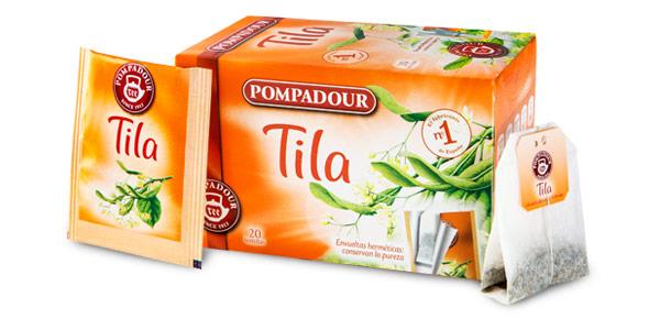 Pack x300 bolsitas Pompadour Té Infusion Tila aprovechando 3x2 chollo en Amazon