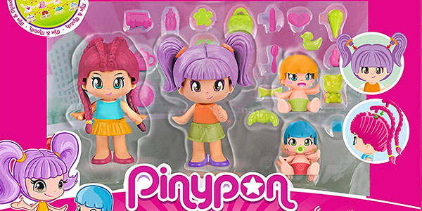 Pack de 4 figuras Pinypon Mix & Match barato