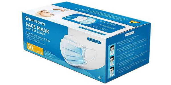 Pack x50 Mascarillas higiénicas deshechables