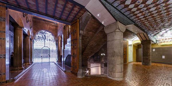 Viaja desde casa: Visita virtual gratis al Palau Güell de Gaudí