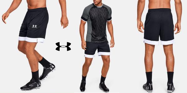 Pantalones cortos Under Armour Challenger III Knit Short para hombre baratos en Amazon