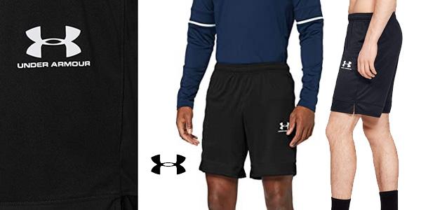 Pantalones cortos Under Armour Challenger III Knit Short para hombre chollo en Amazon