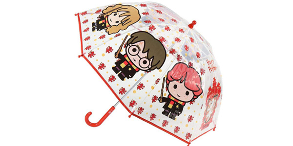 Paraguas transparente infantil de Harry Potter barato en Amazon