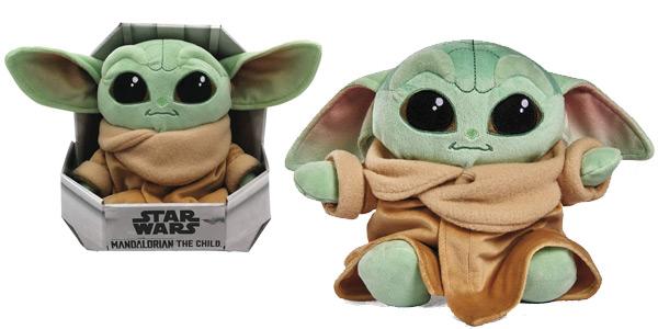 Peluche Baby Yoda Mandalorian de Simba Toys barato en Amazon