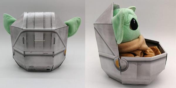 Peluche Baby Yoda Mandalorian de Simba Toys chollo en Amazon