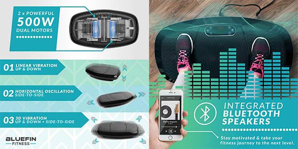 plataforma vibratoria para fitness Bluefin oferta