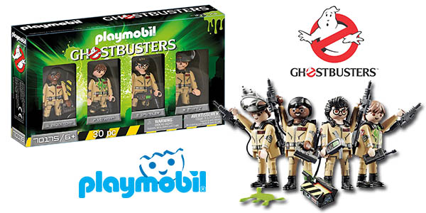 Playmobil cazafantasmas figuras a precio de chollo