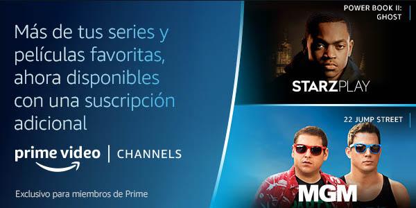 Prueba Prime Video Channels gratis