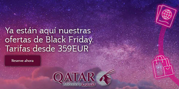 Qatar Airways Black Friday 2020