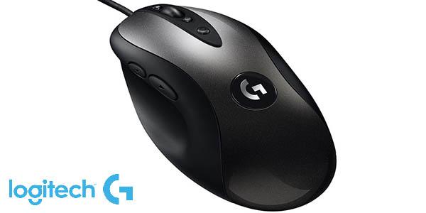 Ratón Gaming Logitech G MX518 HERO con sensor de 16000 DPI