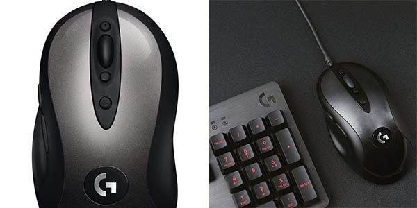 Ratón Gaming Logitech G MX518 HERO con sensor de 16000 DPI en Amazon