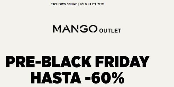 Rebajas Pre-Black Friday Mango Outlet 2020