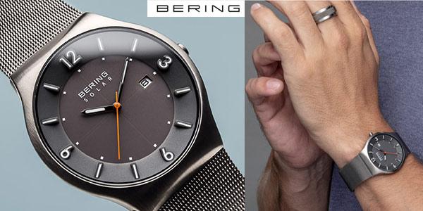 Reloj Analógico Bering Solar para hombre chollazo en Amazon
