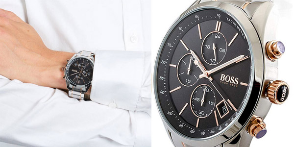Reloj cronógrafo Hugo Boss Grand Prix 1513473 para hombre chollo en Amazon