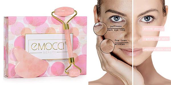 Roller Face rodillo de jade para masaje facial a precio de chollo