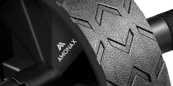 Rueda para abdominales Amonax + esterilla oferta en Amazon