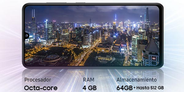 Smartphone Samsung Galaxy A41 de 4 GB de RAM y 64 GB de ROM oferta en Amazon