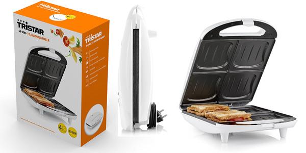 Sandwichera XL Tristar SA-3065 de 1.300 W para 4 sándwiches barata en Amazon