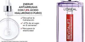 Sérum Antiarrugas L'Oréal Paris Revitalift Filler de 30 ml barato en Amazon