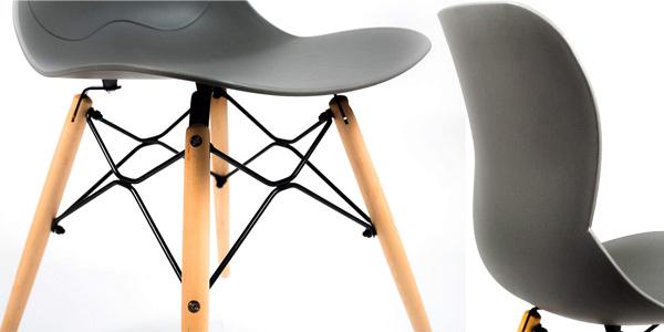 Pack x4 sillas estilo nórdico Home Heavenly Dreams chollo en Amazon