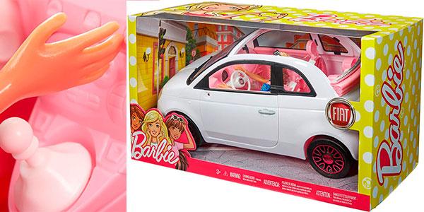 Set Barbie y Fiat 500 barato