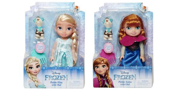 Figura Disney Frozen de Elsa + Olaf o Anna + Olaf barata en Amazon
