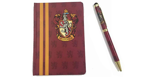 Pack Cuaderno Harry Potter Gryffindor + Bolígrafo chollo en Amazon