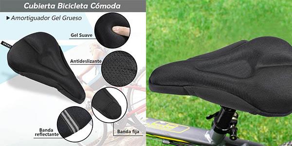 sillín para gel de bicicleta Zacro de relación calidad-precio alta