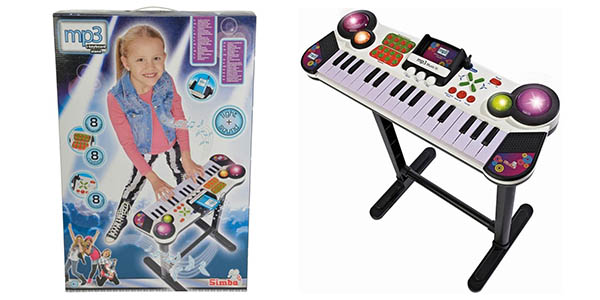 Simba My Music World teclado infantil chollo