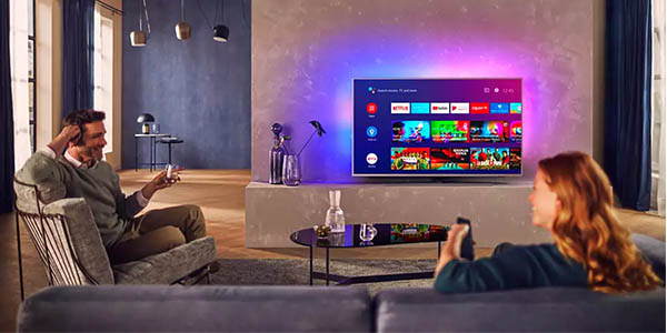 "Smart TV Philips 50PUS8505/12 UHD 4K Ambilight de 50"" en Amazon"