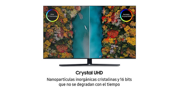 """Smart TV Samsung UE55TU8505 UHD 4K HDR de 55"""" chollazo en El Corte Inglés"""