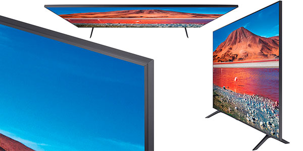 "Smart TV Samsung UE43TU7192 UHD 4K de 43"" en oferta"
