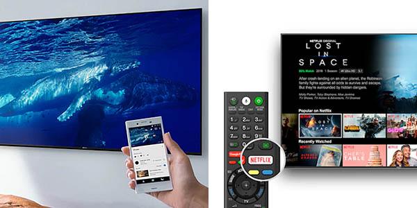 """Smart TV Sony KD-XH8196PBAEP UHD 4K HDR IA de 65"""" con descuento"""