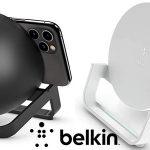 Soporte de carga inalámbrica + altavoz Belkin Boost Charge