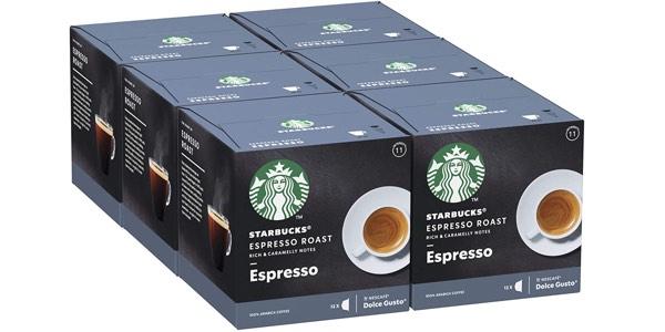 STARBUCKS Espresso Dark Roast De Nescafe Dolce Gusto