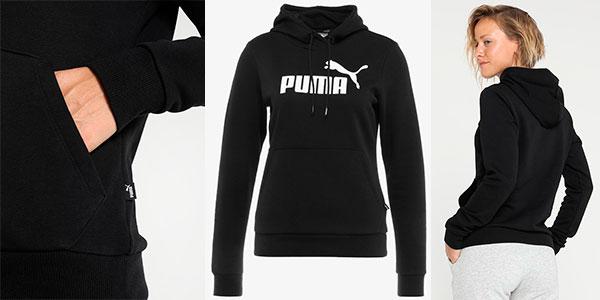 Sudadera Puma Essentials Logo con capucha para mujer barata
