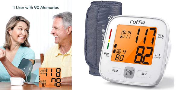 Tensiómetro digital de brazo Roffie barato en Amazon