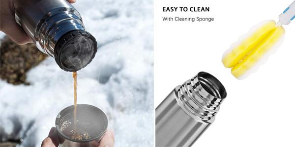 Termo de acero inoxidable UMI by Amazon sin BPA de 500 ml chollo en Amazon