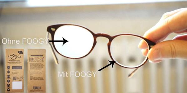Paño de microfibra antivaho Foogy para gafas chollo en Amazon