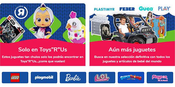 ToysRus chollos en juguetes de primeras marcas en el Black Friday 2020